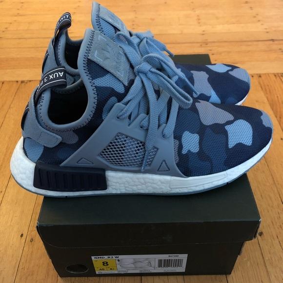 71cfec445 adidas Shoes - Adidas NMD XR1 - Blue Duck Camo - Women s Size 8